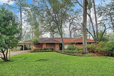 Houston TX Single Family Home For Sale: $600,000