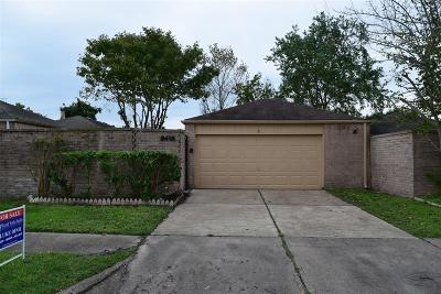 Houston Single Family Home For Sale: 9418 Clipperwood Place