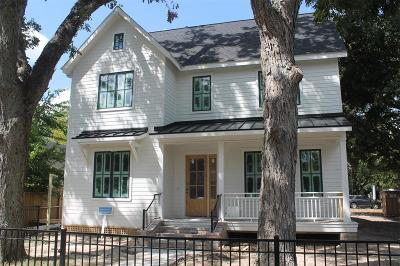 Houston Single Family Home For Sale: 843 Allston Street