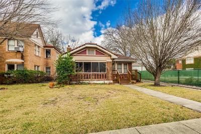 Houston Single Family Home For Sale: 1752 Sul Ross Street