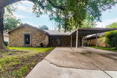 Houston TX Single Family Home For Sale: $127,500