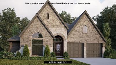 Fulshear Single Family Home For Sale: 3438 Lake Falls Drive