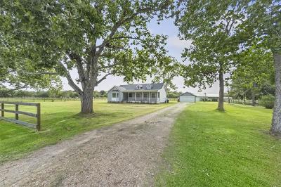Fulshear Single Family Home For Sale: 34210 Fulshear Farms Road