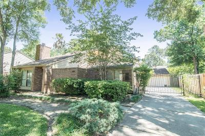 Kingwood Single Family Home For Sale: 4110 Oak Gardens Drive