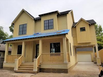 Houston Single Family Home For Sale: 1015 Nadine Street