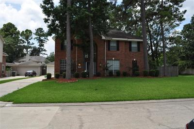 Kingwood Single Family Home For Sale: 3123 Silverberry Trail
