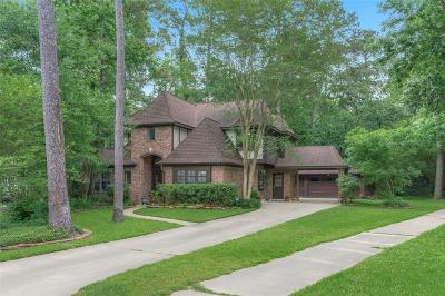 The Woodlands Single Family Home For Sale: 43 Silent Brook Place
