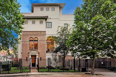 Houston Condo/Townhouse For Sale: 1419 Oakdale Street