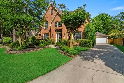 The Woodlands TX Single Family Home For Sale: $500,000