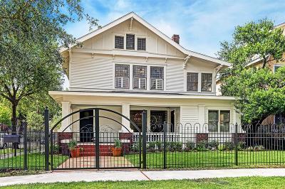 Houston Single Family Home For Sale: 816 W Main Street