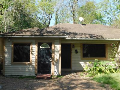 Houston Single Family Home For Sale: 3807 Corder Street