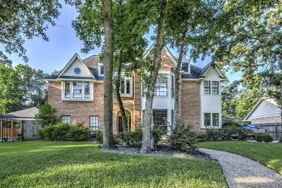 Kingwood Single Family Home For Sale: 1723 Seven Maples Drive