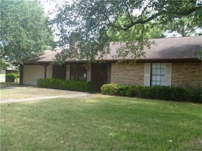 Bellville TX Single Family Home For Sale: $123,500