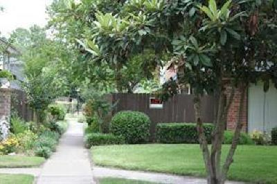 Houston Condo/Townhouse For Sale: 12046 Mighty Oak Drive #A