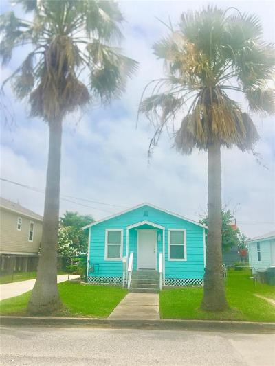 Galveston TX Single Family Home For Sale: $149,000