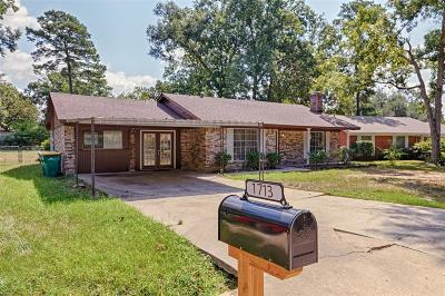 Conroe Single Family Home For Sale: 1713 S 1st Street