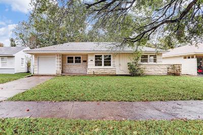 Houston Single Family Home For Sale: 9729 Mariposa Street