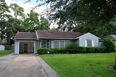 Houston Single Family Home For Sale: 7006 Schiller Street
