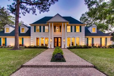 Houston Single Family Home For Sale: 15831 Fleetwood Oaks Drive