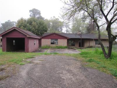 Highlands Single Family Home For Sale: 1327 Clear Lake Road