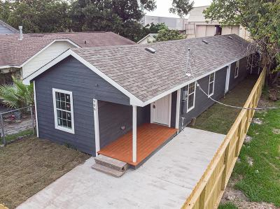 Houston Single Family Home For Sale: 909 Terminal Street