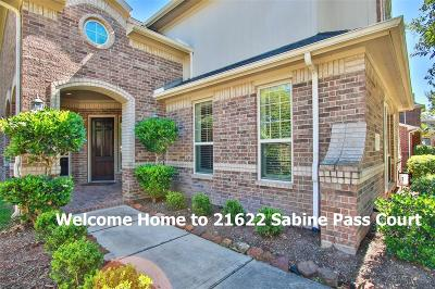 Grand Lakes Single Family Home For Sale: 21622 Sabine Pass Court