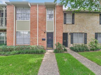 Houston Condo/Townhouse For Sale: 1677 W Sam Houston Parkway