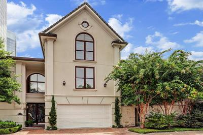 Houston Condo/Townhouse For Sale: 1239 Wynden Court
