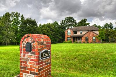 Montgomery Single Family Home For Sale: 11365 Majestic Drive