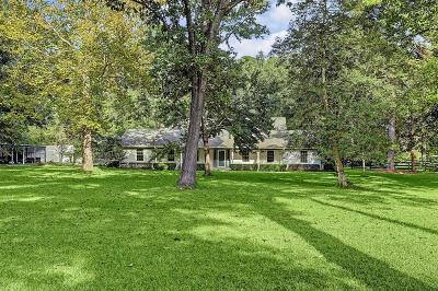 Conroe Farm & Ranch For Sale: 11631 Fm 1485 Road