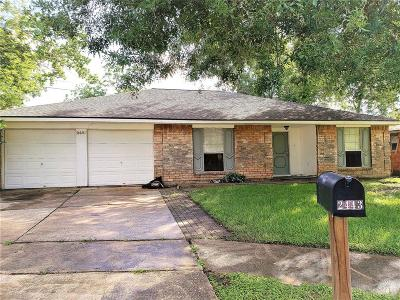 Webster Single Family Home For Sale: 2443 Heritage Bend Drive