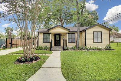 Houston Single Family Home For Sale: 2616 Columbia Street