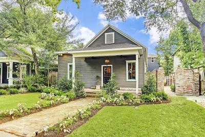Houston Heights, Houston Heights Annex, Houston Heights, Timbergrove Single Family Home For Sale: 516 Columbia Street