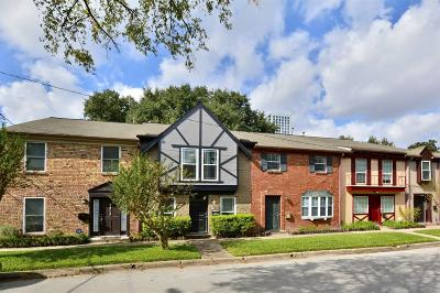 Houston Condo/Townhouse For Sale: 3510 Stanford Street