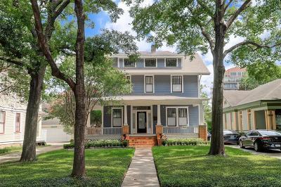 Houston Single Family Home For Sale: 426 Westmoreland Street