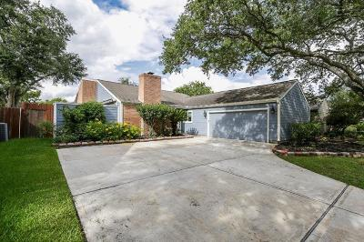 Houston Single Family Home For Sale: 1839 Round Lake Drive