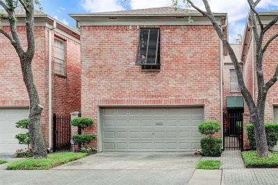 Houston Condo/Townhouse For Sale: 6722 Vanderbilt Street #2