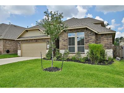 Conroe Single Family Home For Sale: 126 Quail Meadow Drive