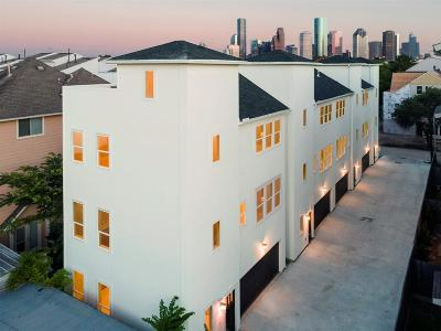 Houston Condo/Townhouse For Sale: 1716 Ovid Street #B