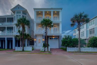 Galveston Single Family Home For Sale: 2457 East Seaside Drive