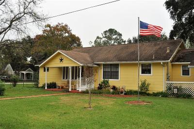 Alvin Single Family Home For Sale: 204 S 5th Street