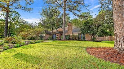 Kingwood Single Family Home For Sale: 5414 Beaver Lodge Drive