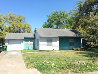 Houston Single Family Home For Sale: 6630 Clawson Street