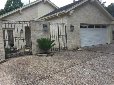 Missouri City Single Family Home For Sale: 2806 Broadmoor Circle