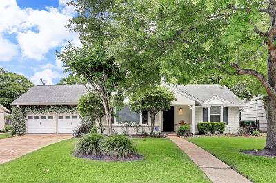 Houston Single Family Home For Sale: 4618 Hummingbird Street