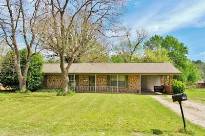 Trinity County Single Family Home For Sale: 105 Crestway Street
