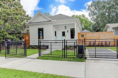 Houston Single Family Home For Sale: 806 Columbia Street