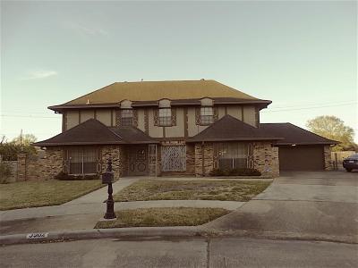 Pasadena Single Family Home For Sale: 3902 Bolivia Drive