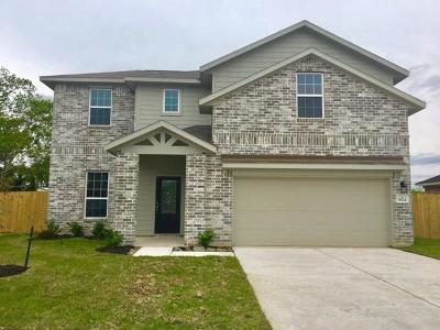 Alvin Single Family Home For Sale: 1824 Winding Trail Lane