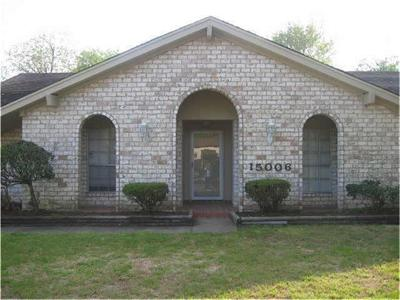 Missouri City Single Family Home For Sale: 15006 Chaseridge Drive